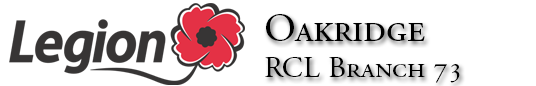 Branch 73 Royal Canadian Legion